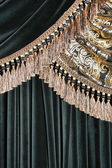Luxurious curtain background — Φωτογραφία Αρχείου