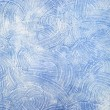 Decorative blue plaster texture on the wall - background — Stock Photo #64601227