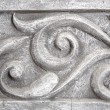 Wall decorative moulding element closeup — Stock Photo #65312177