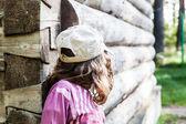 Little girl looking away — Stock Photo