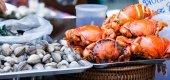 Seafood in Thailand — Fotografia Stock