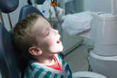 The child in the dental office — Stock Photo