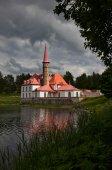 Priory palace in Gatchina — Stock Photo