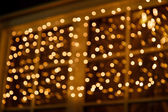 Holiday lights bokeh background — Stock Photo