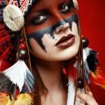 Native American Indian woman — Stock Photo #65996181
