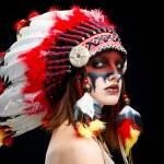 Native American Indian woman — Stock Photo #65996239