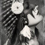 Native American Indian woman — Stock Photo #65996291