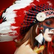 Native American Indian woman — Stock Photo #65996327