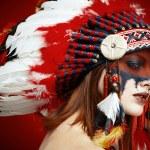 Native American Indian woman — Stock Photo #65996327