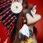 Native American Indian woman — Stock Photo #65996345
