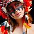 Native American Indian woman — Stock Photo #65996429