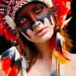 Native American Indian woman — Stock Photo #65996429