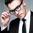 Handsome stylish man — Stock Photo #72123605