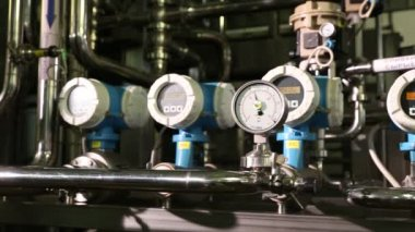 System of measuring instruments — Stock Video