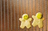 Christmas cookies, shortbread — Stock fotografie