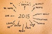 2015 — Stockfoto