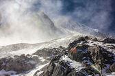 Snow Swept Peak — Stock Photo
