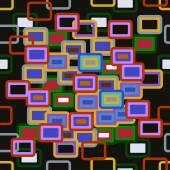 Multicolored squares — Stock Vector