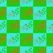 Gałązka z liśćmi — Wektor stockowy