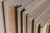 Layer of Plywood as background — Stock Photo