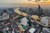 Bangkok cityscape from top view — Stock Photo