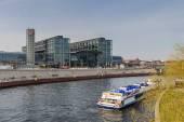 View of the Berlin Hauptbahnhof station  — Stock Photo
