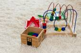 Wooden child toys — Stock Photo