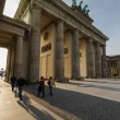 Brandenburg gate at sunset  — Stock Photo #61727183