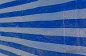 Plastic blue sheet pattern — Stock Photo