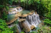 Beautiful waterfall in Kanchanaburi, Thailand — Stock Photo