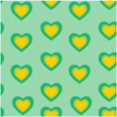 Valentine heart seamless pattern background love sign — Stock Vector