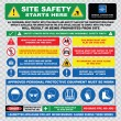 Industrial, construction  site safety signs — Stock Vector #73713597