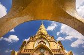 タイ北部の美しい寺院. — ストック写真