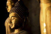 Buddha statue in the temple of Thailand — Stock Photo