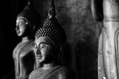 タイの寺院の仏像 — ストック写真
