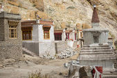 Nádherný dům v komplexu kláštera Hemis Leh Ladakh, Indie — Stock fotografie