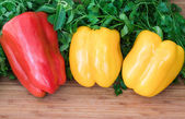Sweet peppers. — Stockfoto