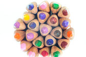 Color Pencils round — Stock Photo