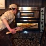 Pizza owen — Stock Photo #69176393