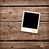 Blank instant photo frame — Stock Photo