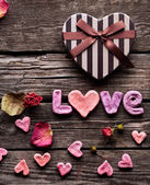 Valentines Day background — Foto Stock