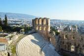 The Odeon theater at Athens, Greece — Stock Photo