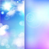 Template greeting card, booklet — Vetorial Stock