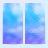 Abstract background, template banner or postcard — Stock Vector