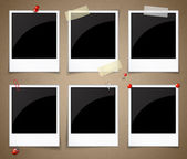 Set of photo frames — Stock Vector