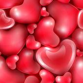 Happy valentijnsdag achtergrond — Stockvector