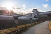 Kanazawa castle in Kanazawa, Japan. — Stock Photo