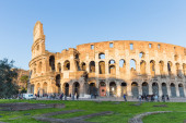 Sunset at the Colosseum in Rome, Italy — Stock Photo