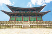 Gyeongbokgung Palace in Seoul, South Korea — Stock Photo