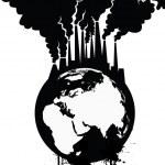 Pollution Earth — Stock Vector #68800209